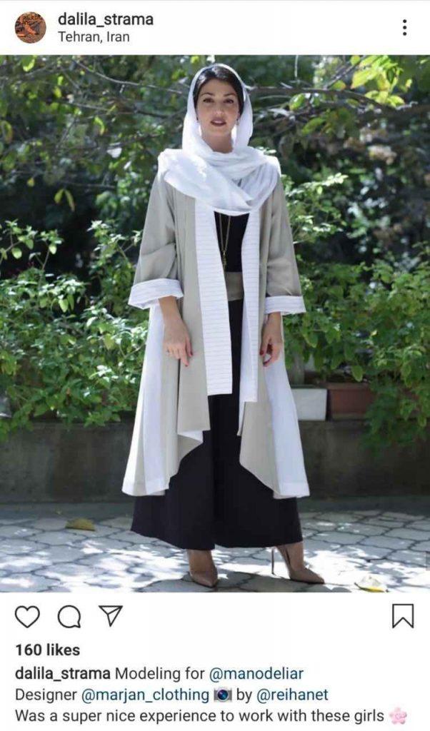 همسر آندره آ استراماچونی دالیلا. مدلینگ. صفحه شخصی دالیلا