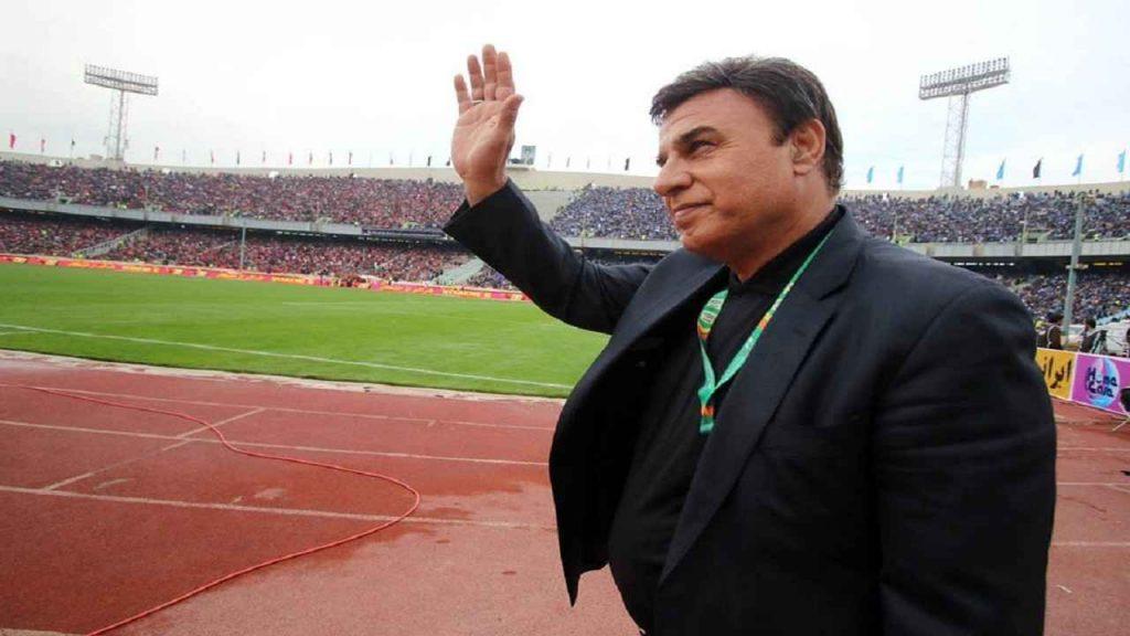پرویز مظلمومی مربی و پیشکسوت استقلال