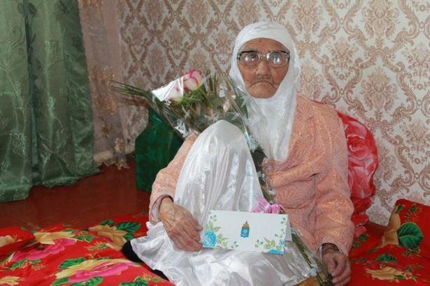 پیرترین زن دنیا در روسیه