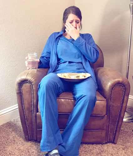 گریه پرستار پربیننده ترین عکس روز جهان