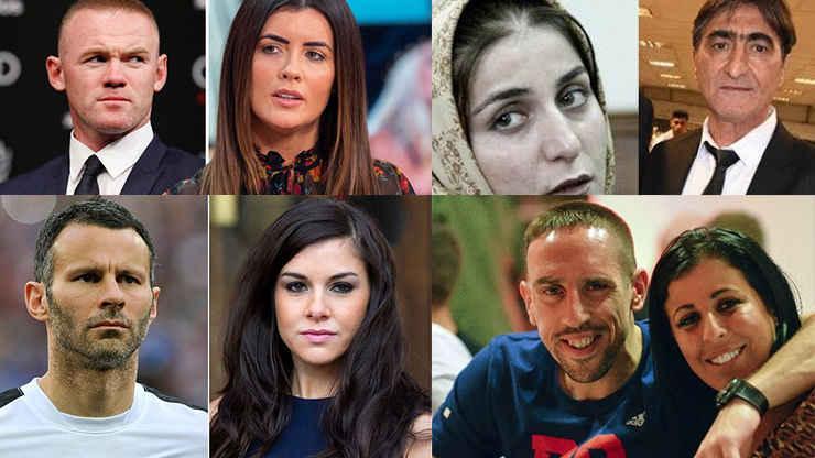 10 فوتبالیست مشهوری که به همسرانشان خیانت کرده اند