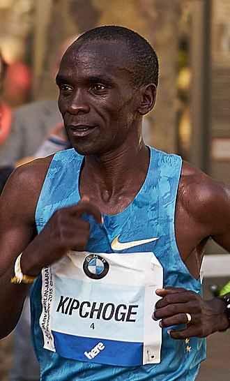 Eliud Kipchoge الیود کیپچوگه قهرمان دو و میدانی جهان از کشور کنیا