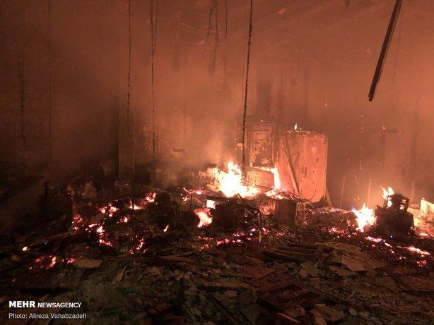 آتش زدن اموال عمومی و تخریب اموال عمومی در اغتشاشات سال 98