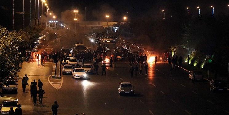 اعتراضات مردمی به گرانی بنزین در کشور