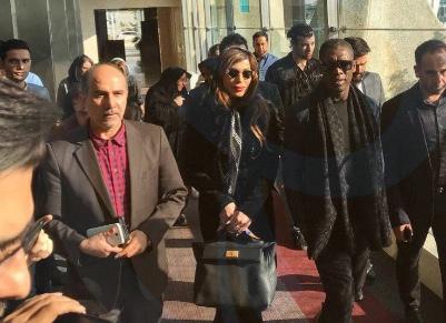 حضور کلارنس سیدورف و همسرش در ایران