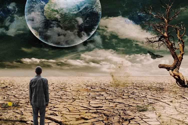 خطر تغییرات اقلیمی زمین