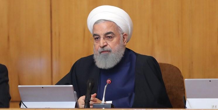 دکتر حسن روحانی رئیس جمهور در جلسه هیأت دولت