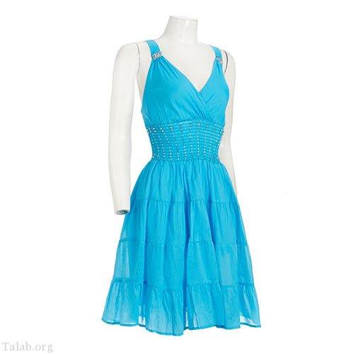 زنانه طرح دوخت لباس بدون آستین بدون یقه