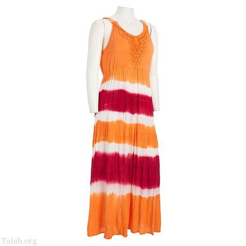 زنانه طرح دوخت لباس رنگارنگ