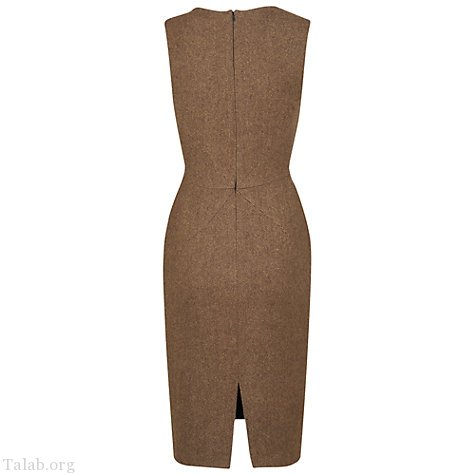 زنانه طرح دوخت لباس ساده شیک بدون آستین