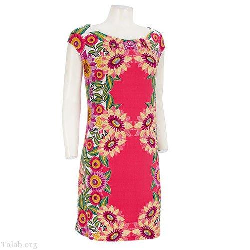 زنانه طرح دوخت لباس مدل گل دار