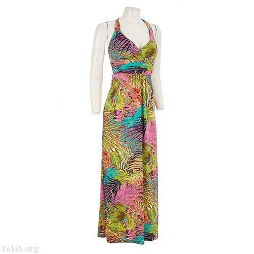 زنانه طرح دوخت لباس گل دار