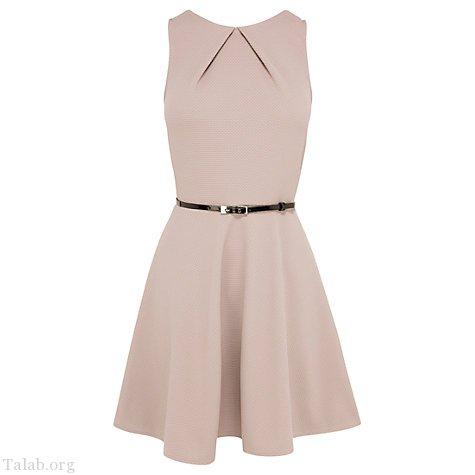 طرح لباس زنانه بدون آستین دامن