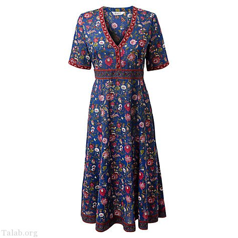 طرح لباس زنانه شیک یقه هفت