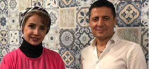 قلی خانی در کنار علیرضا فغانی
