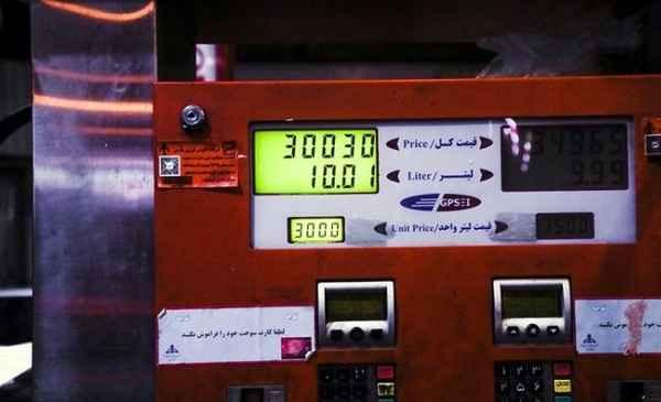 قیمت 10 لیتر بنزین آزاد با نرخ جدید