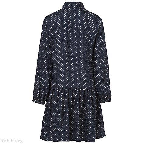 لباس مجلسی زنانه آستین بلند یقه