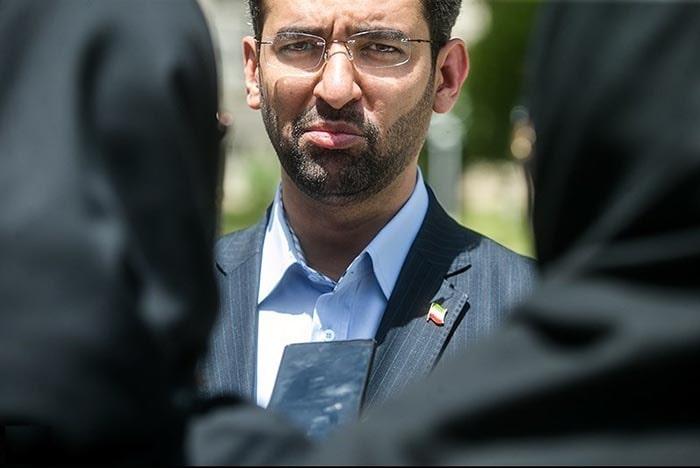 محمد جواد آذری جهرمی وزیر ارتباطات