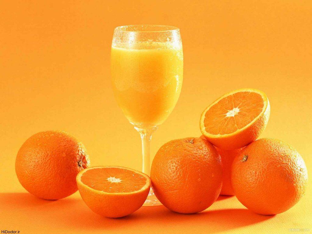 پرتقال و آب پرتقال