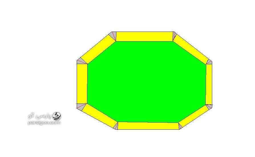 آموزش کادو کردن هدیه به روش شش ضلعی