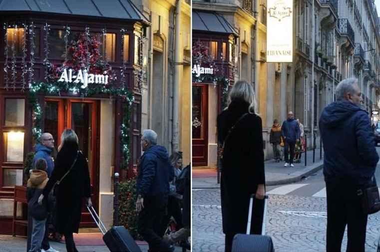 تصاویر جنجالی از مهران مدیری در پاریس