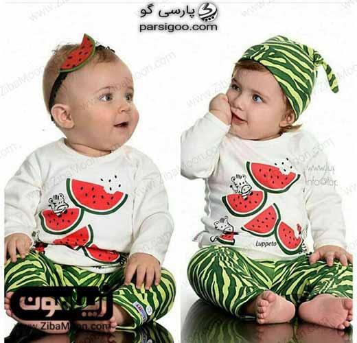 لباس با طرح هندوانه ویژه یلدا