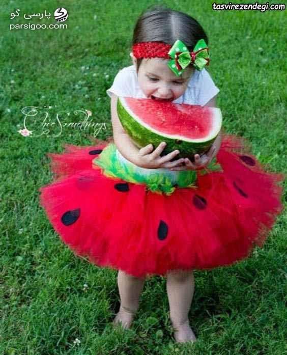 لباس نوزاد دختر ویژه شب یلدا