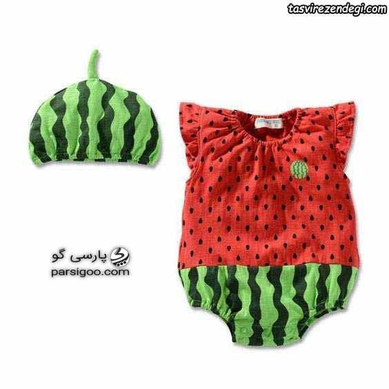 لباس نوزاد ویژه شب یلدا