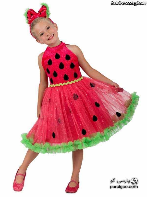 لباس و دامن کودکانه ویژه یلدا