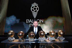 لیونل مسی فاتح توپ طلای 2019