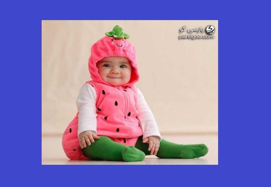 مدل لباس کودک برای شب یلدا