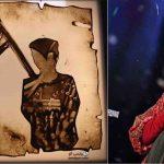 نقاشی جدید فاطمه عبادی با موضوع شهدای مدافع امنیت