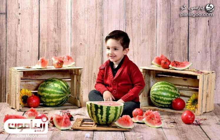 هندوانه و شب یلدا لباس پسربچه