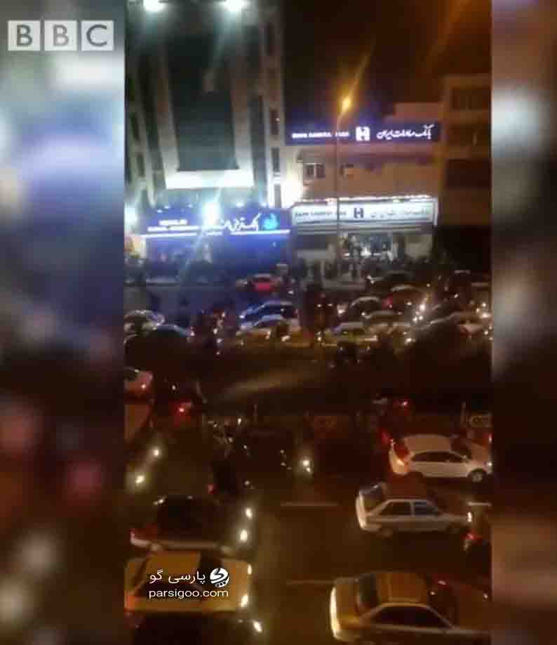 تجمع عده محدودی ادر تهران 22 دی ماه 98