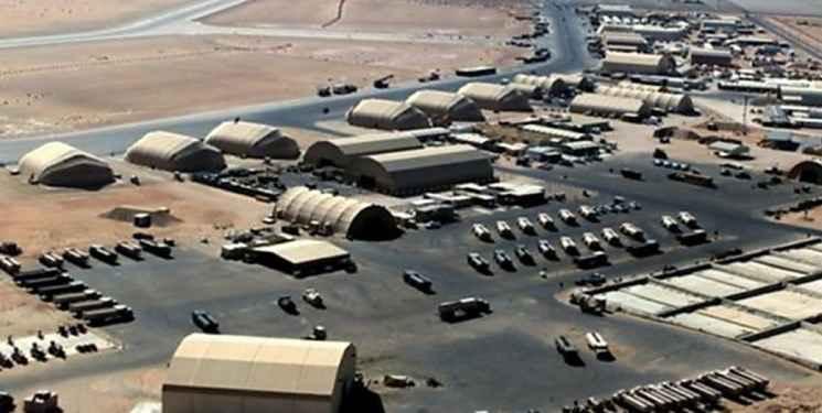 حمله موشکی ایران به پایگاه آمریکا