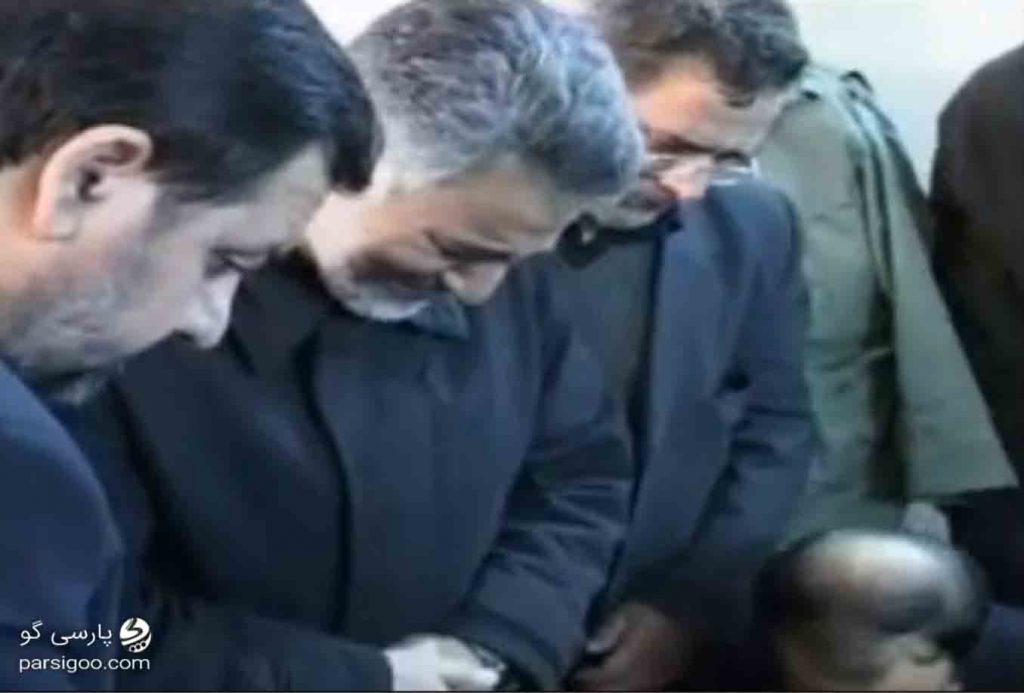 سردار سلیمانی می گوید از خدا می خواهم مرا به احمد کاظمی ملحق کند