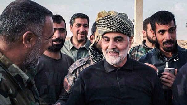 سردار قاسم سلیمانی در لباس نبرد و در جبهه های مبارزه با داعش