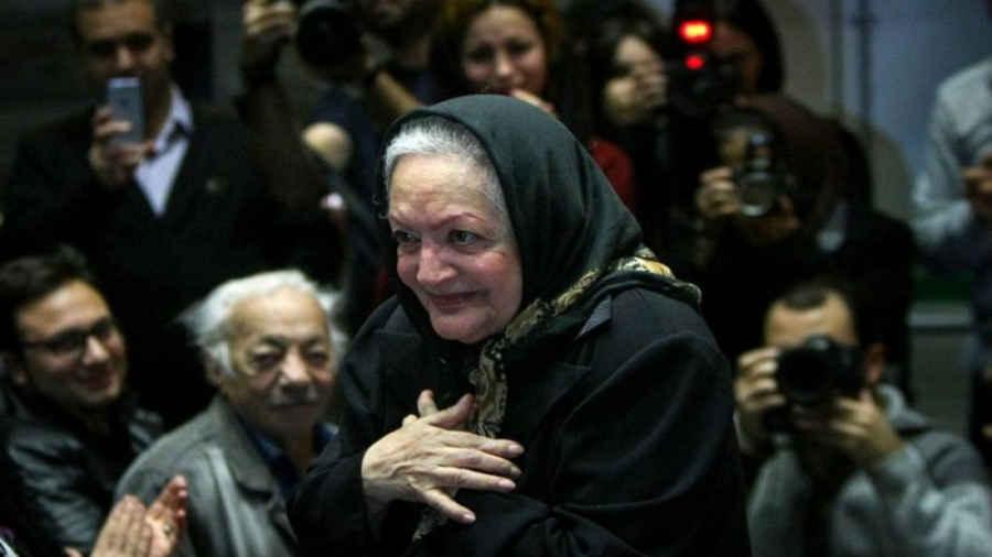 مراسم گرامیداشت شهلا ریاحی بازیگر سینما و تلوزیون