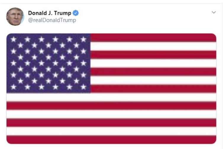 نخستین توییت ترامپ پس از ترور شهید حاج قاسم سلیمانی