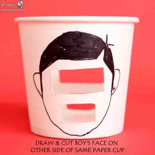 بازی تشخیص حالت های مختلف چهره برای کودکان تصویر سوم