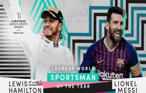 لیونل مسی و لوییس همیلتون مشترکا برنده جایزه لاروس