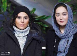 نیکی کریمی و سحر دولتشاهی در جشنواره فیلم فجر 98