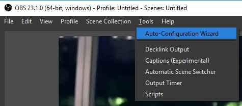 تنظیمات نرم افزار OBS برای استریم کردن