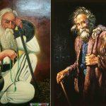 دعاي خير درویش دعای درویش دعای خیر مستجاب الدعوه نقاشی درویش