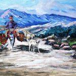سگ باحیا سگباحیا حیا سگ حیوان درویش نقاشی سگ و درویش