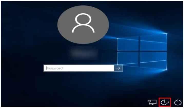 فراموش کردن رمز عبور در ویندوز 10