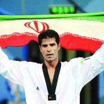 هادی ساعی قهرمان تکواندو دارنده مدال طلای المپیک