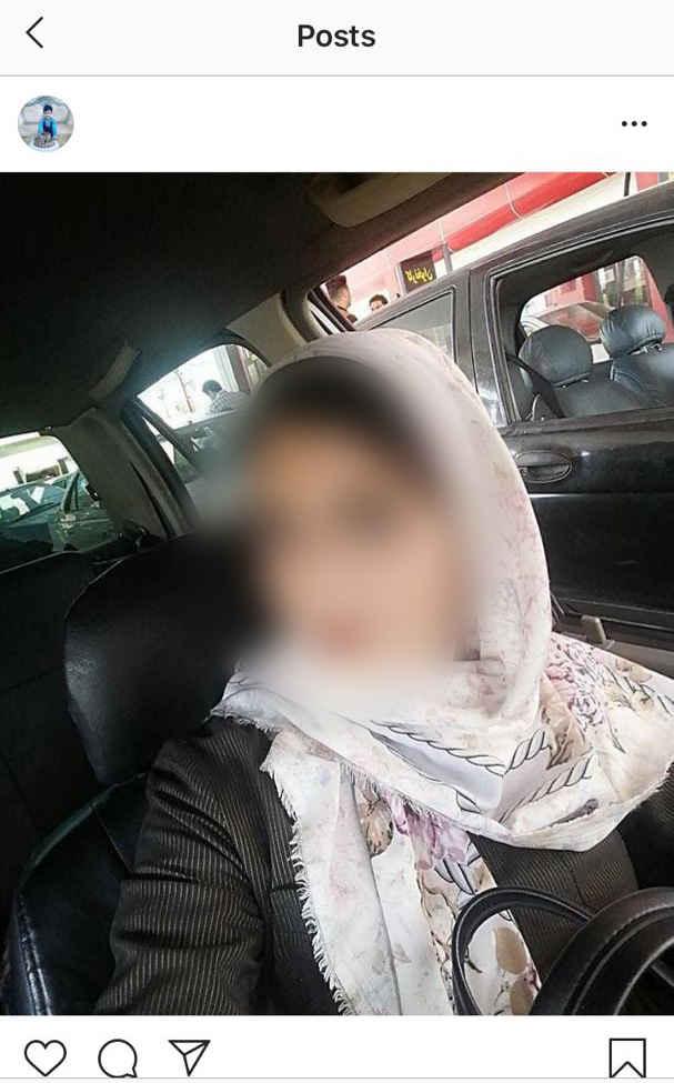 عکس مهلا مادر کودک آزار مشهدی