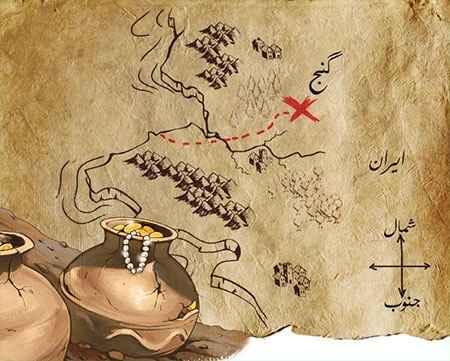اهمیت نقشه گنج و نقشهخوانی در یافتن گنج