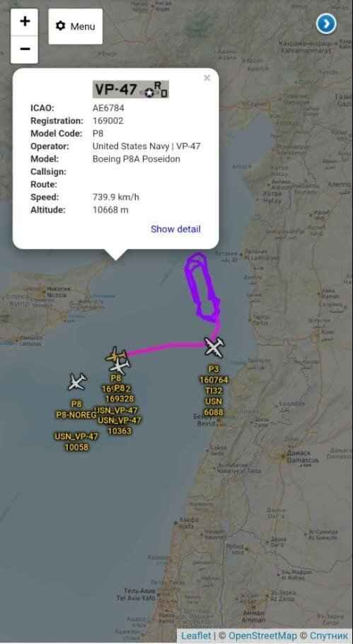 ارتباط گشتزنی ۴ هواپیمای جاسوسی آمریکا با علت انفجار بیروت